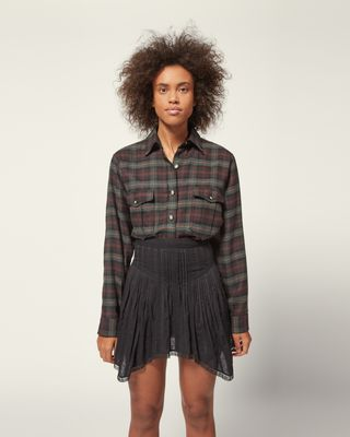 ISABEL MARANT ÉTOILE SHORT SKIRT Woman PRANDALI SKIRT r