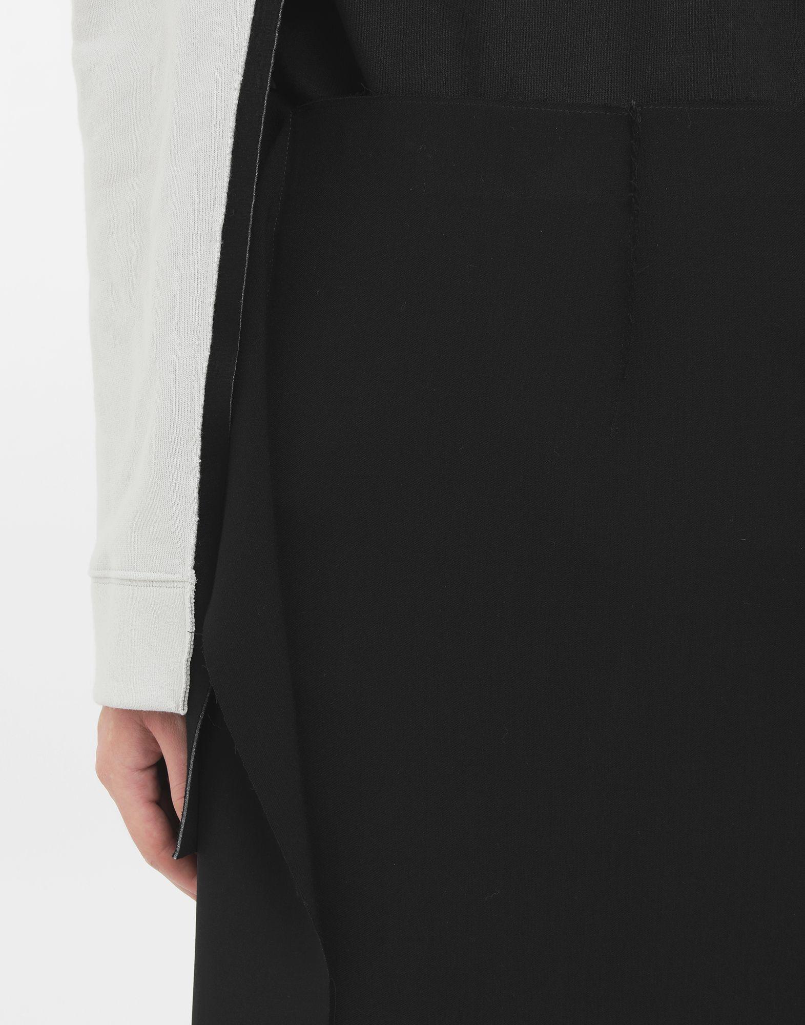 MAISON MARGIELA Bi-material skirt Skirt Woman a