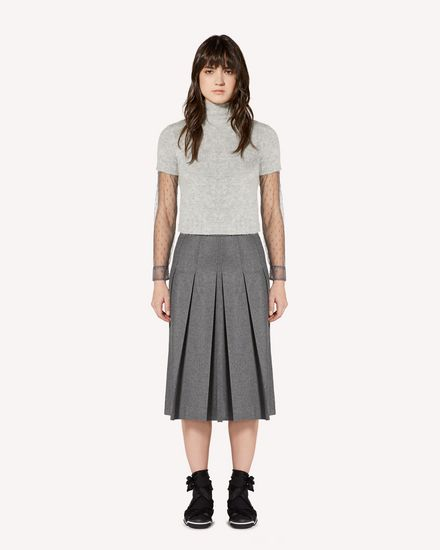 REDValentino Long and midi skirts Woman SR0RAC75392 080 f