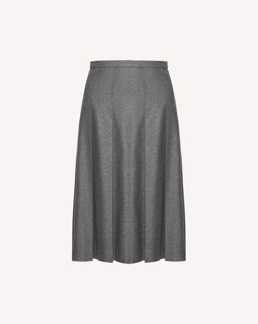 REDValentino SR0RAC75392 080 Long and midi skirts Woman a