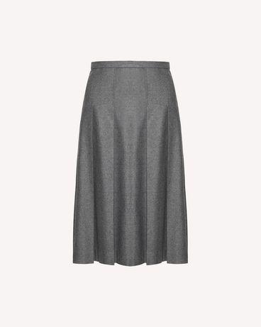 REDValentino SR0RAC75392 080 Midi Skirt Woman a
