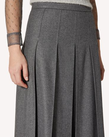 REDValentino SR0RAC75392 080 Long and midi skirts Woman e