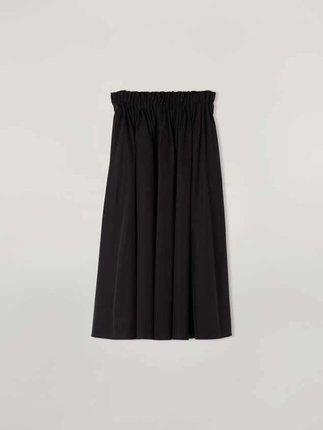 Marni Puckered A-lined skirt in cotton poplin Woman - 2