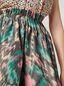 Marni Falda plisada con forma de A de mezclilla de algodón y poliéster Mujer - 4