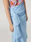 Marni Draped A-lined skirt in cotton poplin Woman - 4
