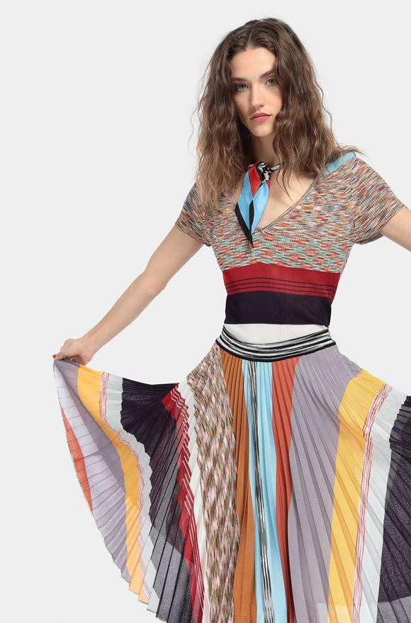 MISSONI Skirt Woman, Rear view
