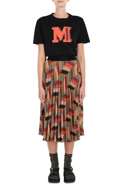 M MISSONI Skirt Brick red Woman - Back