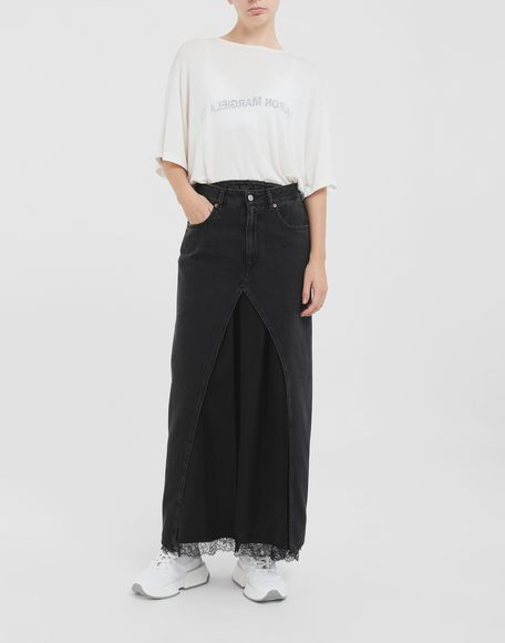 MM6 MAISON MARGIELA Multi-wear denim skirt Long skirt Woman d