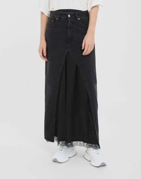 MM6 MAISON MARGIELA Multi-wear denim skirt Long skirt Woman r