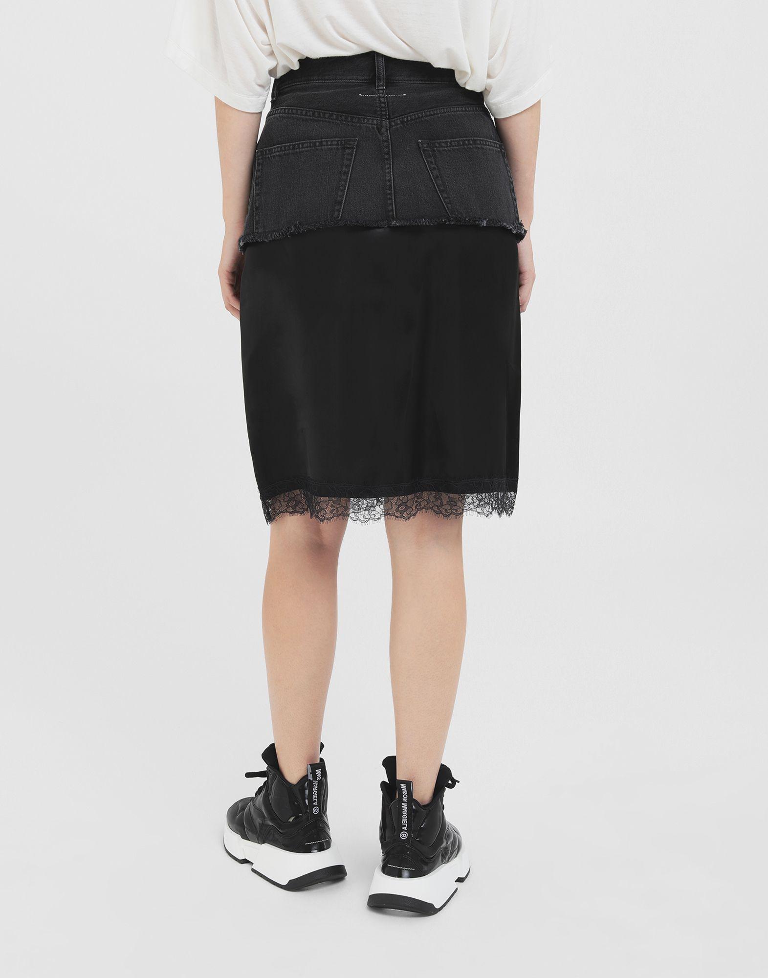 MM6 MAISON MARGIELA Spliced skirt Skirt Woman e