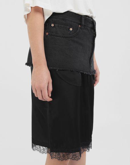 MM6 MAISON MARGIELA Spliced skirt Skirt Woman a