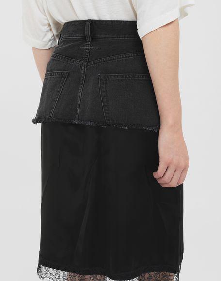 MM6 MAISON MARGIELA Spliced skirt Skirt Woman b