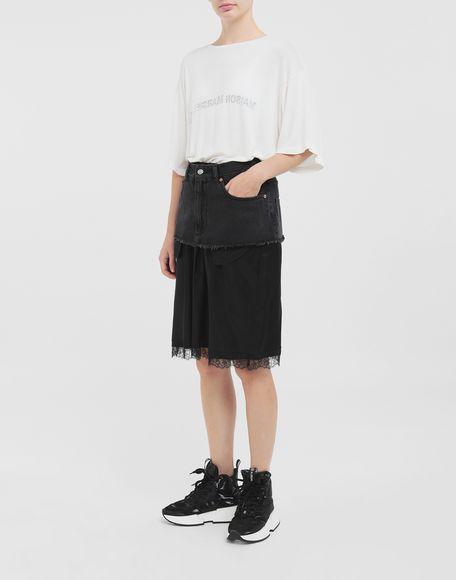 MM6 MAISON MARGIELA Spliced skirt Skirt Woman d