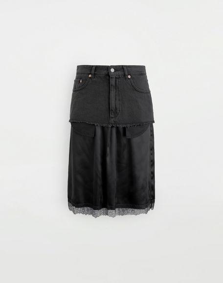 MM6 MAISON MARGIELA Spliced skirt Skirt Woman f