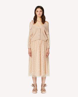 REDValentino   限定カプセルコレクション  ハートグリッターチュール スカート
