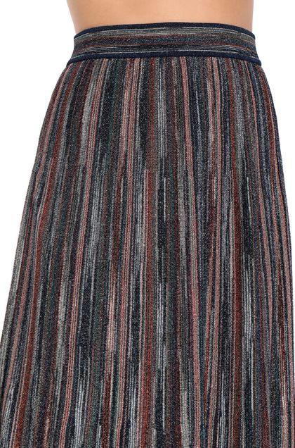 M MISSONI Skirt Blue Woman - Front
