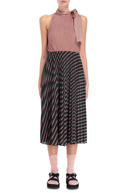 M MISSONI Skirt Green Woman - Back