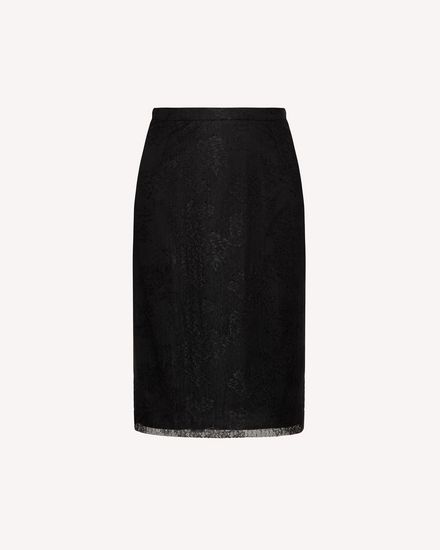 REDValentino Midi Skirt Woman SR0RAD004J4 0NO a