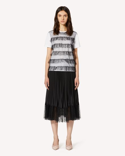 REDValentino Long and midi skirts Woman TR3RAD304S9 0NO f