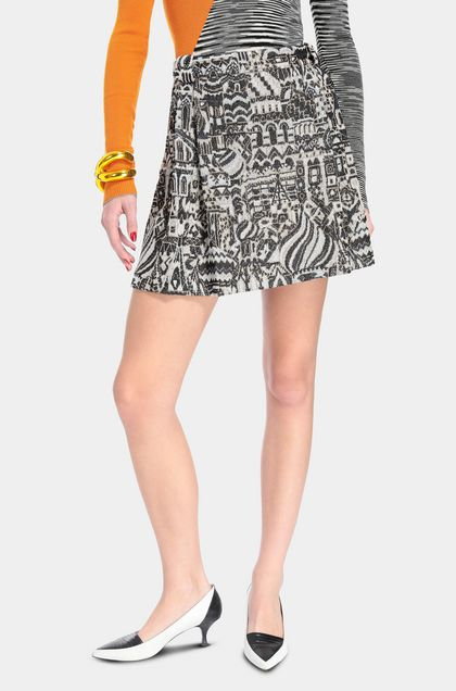 MISSONI Miniskirt Blue Woman - Front
