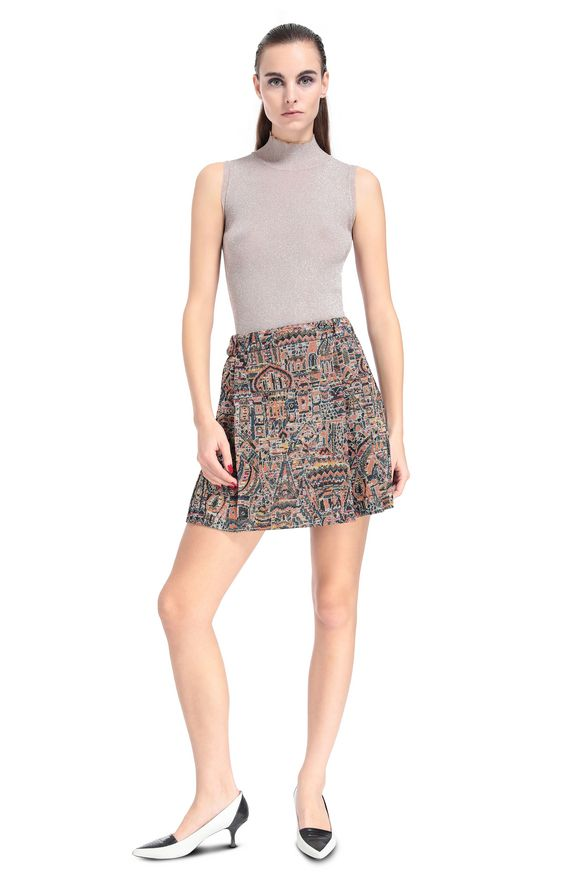 MISSONI Miniskirt Woman, Frontal view