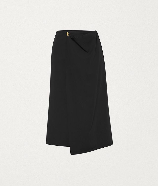 BOTTEGA VENETA SKIRT IN GABARDINE Skirt Woman fp