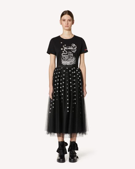 REDValentino Long and midi skirts Woman TR3RA00N4TG 0NO f