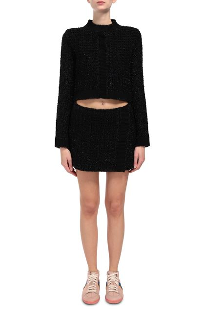 M MISSONI Miniskirt Black Woman - Back