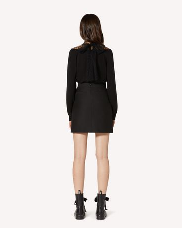 REDValentino TR3RAD254R6 0NO Mini skirt Woman r