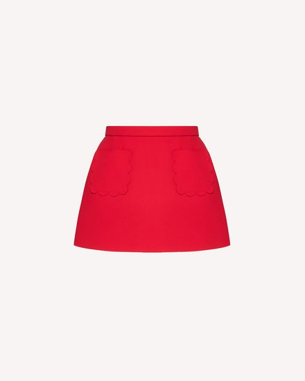 REDValentino Mini skirt Woman TR3RAE101FR F58 a