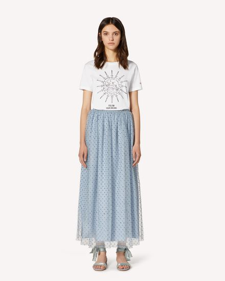 REDValentino Long and midi skirts Woman TR3RA3804RL E34 f