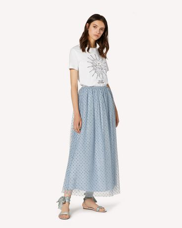 REDValentino TR3RA3804RL E34 Long and midi skirts Woman d