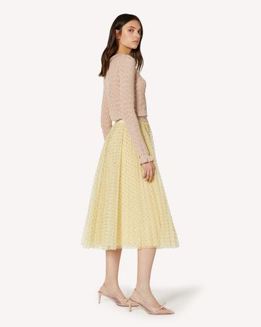 REDValentino TR3RAC204RL AD6 Long and midi skirts Woman d