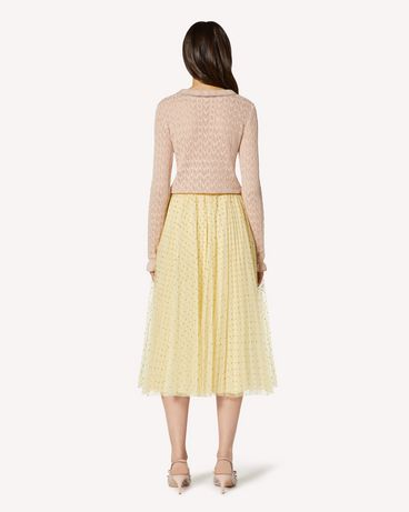 REDValentino TR3RAC204RL AD6 Long and midi skirts Woman r