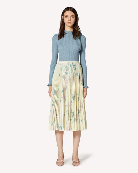REDValentino Long and midi skirts Woman TR3RAC204RP R13 f