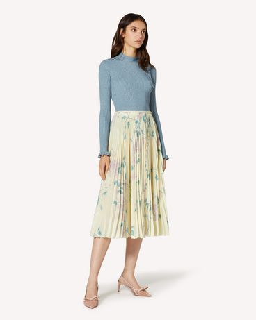 REDValentino TR3RAC204RP R13 Long and midi skirts Woman d