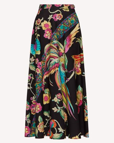 REDValentino TR0RA2Q5508 0NO Long and midi skirts Woman a