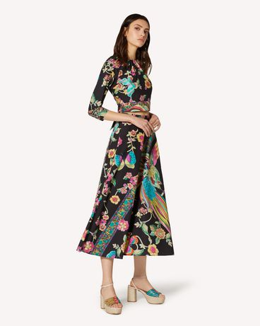 REDValentino TR0RA2Q5508 0NO Long and midi skirts Woman d