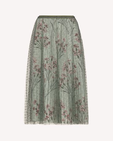 REDValentino TR3RAC21428 905 Long and midi skirts Woman a