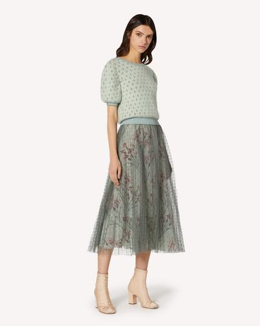 REDValentino TR3RAC21428 905 Long and midi skirts Woman d