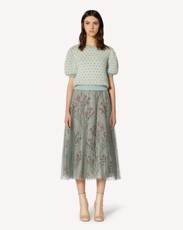 REDValentino TR3RAC21428 905 Long and midi skirts Woman f