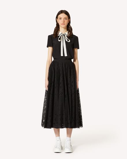 REDValentino Long and midi skirts Woman TR0RAD4050F 0NO f