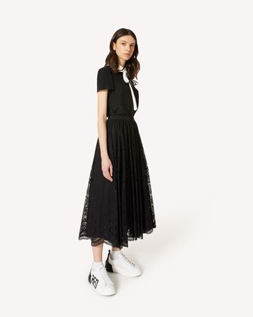 REDValentino TR0RAD4050F 0NO Long and midi skirts Woman d