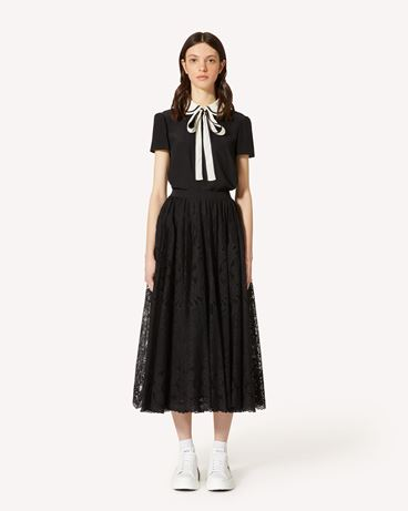 REDValentino TR0RAD4050F 0NO Long and midi skirts Woman f