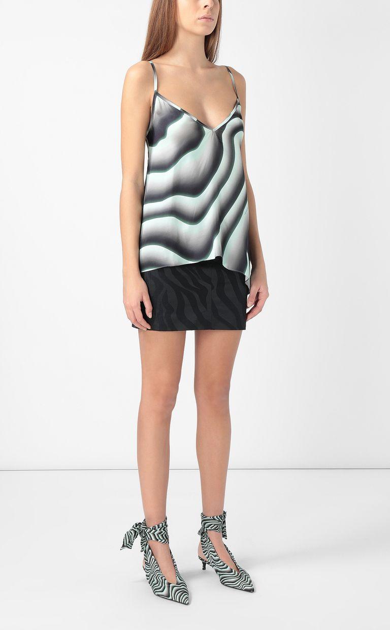JUST CAVALLI Skirt in zebra-stripe jacquard Skirt Woman d
