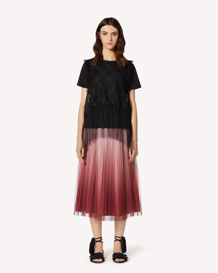 REDValentino Long and midi skirts Woman TR0RA00W52P R13 f