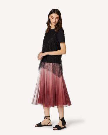 REDValentino TR0RA00W52P R13 Long and midi skirts Woman d