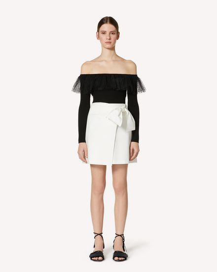 REDValentino Mini skirt Woman TR0RAD850VL 031 f