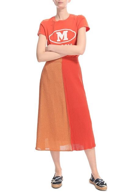 M MISSONI Skirt Orange Woman - Back