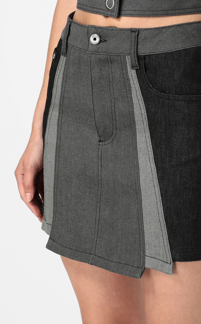 JUST CAVALLI Short denim skirt Mini skirt Woman e